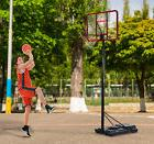 12' Big Portable Basketball Hoop System Adjustable Height