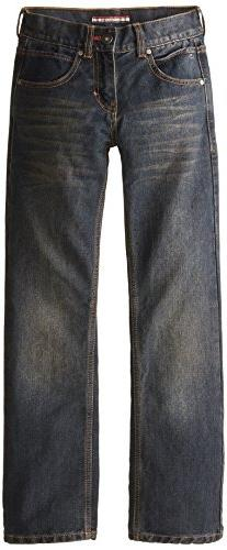 Tommy Hilfiger Big Boys' Revolution Jeans, Heritage, 16 Slim