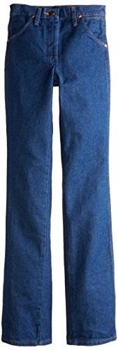 Wrangler Big Boys' Students Cowboy Cut Jeans,Prewashed