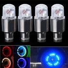 4pcs Bike Car Motorcycle Wheel Tire Tyre Valve Cap Flash LED