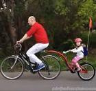 Childs Bike CoPilot Trailer Towing Bicycle Attachment Quick