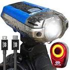Bike Front Light Cree Led Headlight Bicycle Set Accessories