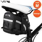 BV Bike Seat Saddle Bag, Bicycle Rear Tail Strap-On Pouch
