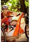 Bike Trailer Orange InStep 2 Seater Child Kids Bicycle