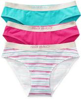 Calvin Klein Girls' 3-Pack Bikini Briefs