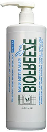 32 Ounce BioFreeze Gel With Ilex Pump Bottle