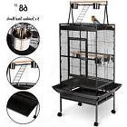 """68"""" Large Bird Pet Cage Large Play Top Parrot Finch Cage"""