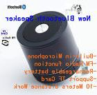 Black Bluetooth Wireless Speaker Mini Portable Super Bass