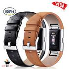 BLACK BROWN LEATHER 2-PACK Wristband Strap Band Accessories