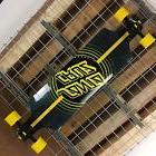 New Santa Cruz Black Impact Drop Down Cruzer Complete