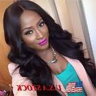 Black Long Wavy Wigs Loose Curly Full Front Natural