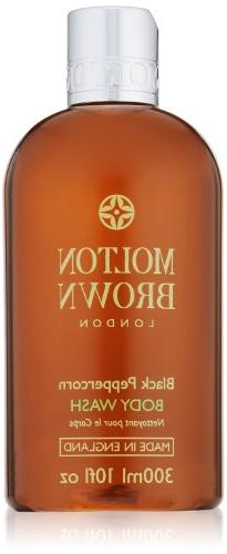 Molton Brown Body Wash, Black Peppercorn, 10 fl. oz