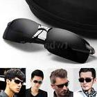 Men Black Polarized Glasses Fashion Outdoor Sports Eyewear