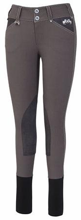 Equine Couture Women's Blakely Knee Patch Breech with