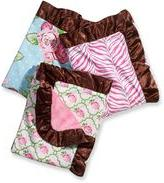 Caden Lane Girl Blanket with Decorative Trim