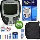Blood Glucometer Glucose Diabetic Monitoring Kit Starter Sugar Test Diabetes Set