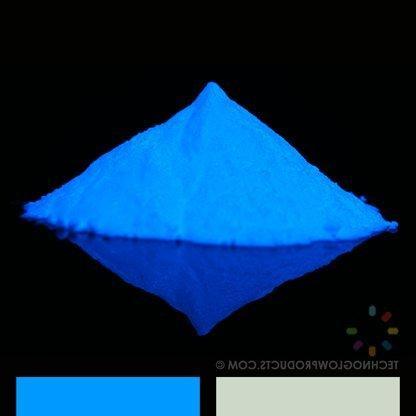 Blue UV/Glow in the Dark Pigment Powder - Medium 30-40 um-