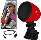 Bluetooth Bicycle Speaker with Microphone & Mount for Apple