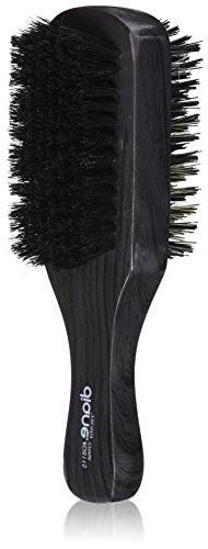 Diane 100% Boar 2-Sided Club Brush, Medium and Firm Bristles
