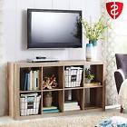 Bookcase Shelves Furniture Storage Wood Organizer Bookshelf