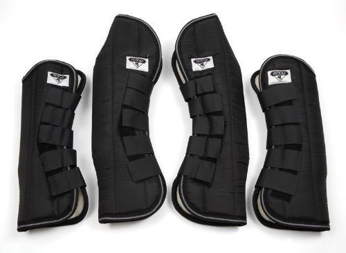 Saxon Travel Equestrian Boot Full, Black