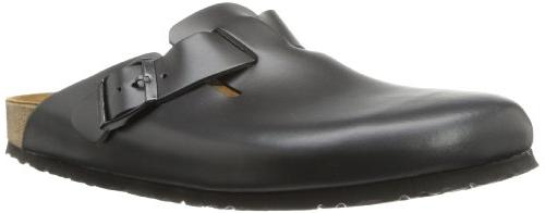 birkenstock boston black clog 39n