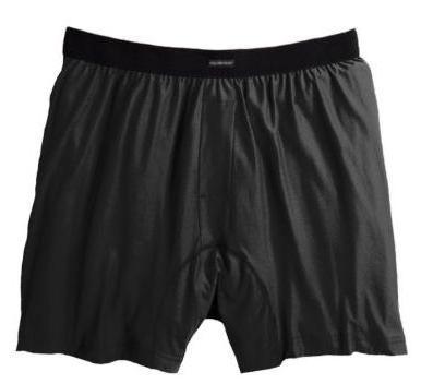 ExOfficio Men's Boxers Black - Size XX-Large