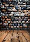 Brick Wall Photography Backdrops for Studio Wooden Floor