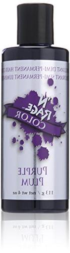 N'rage Brilliant Demi Permanente Hair Color, Purple Plum, 4