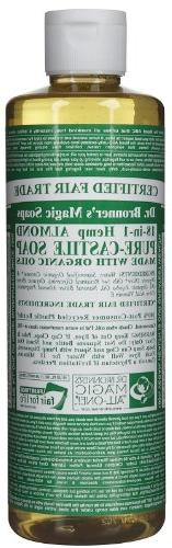 Dr Bronners Magic Soap All One Csal16/76116 16 Oz Almond Dr