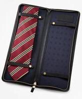 Brooks Brothers Leather Tie Case