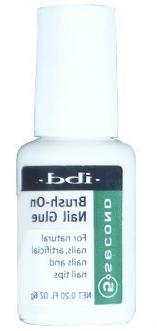 5 Second Brush On Nail Glue, 54006, IBD / Nail Treatments