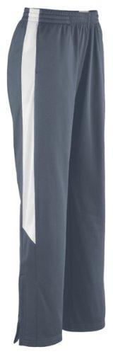 Augusta Sportswear Womens Brushed Tricot Pant, Graphite/