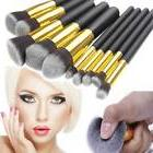 10pcs Makeup Brushes Cosmetic Eyebrow Blush Foundation