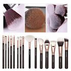 12pcs Pro Makeup Brushes Set Cosmetic Eyeshadow Powder