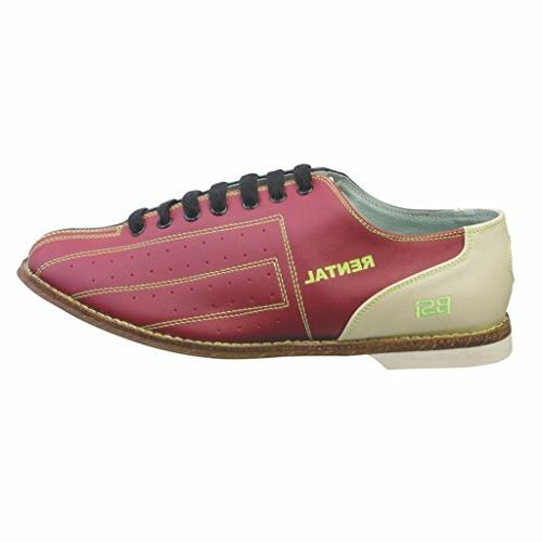 BSI Womens Leather Rental Bowling Shoes- Laces