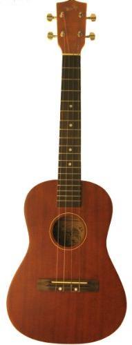 Kay Guitar BU10 Baritone Ukulele Hawaiian Koa Wood Finish