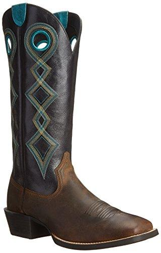 Ariat Men's Sport Buckaroo Wide Square Toe Western Boot,