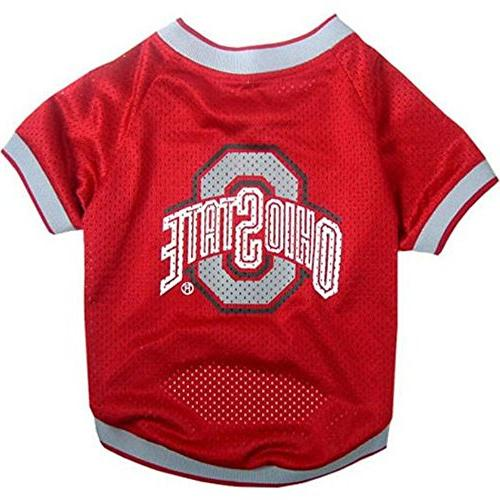 Mirage Pet Products Sports Dog Apparel Ohio State Buckeyes