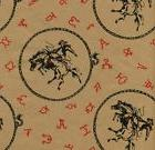 BUCKING HORSE WESTERN GIFT WRAPPING PAPER -30 ft.Roll