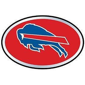 Buffalo Bills Color Auto Emblem - Die Cut