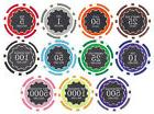 New Bulk Lot of 500 Eclipse 14g Clay Casino Poker Chips -