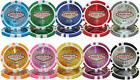 New Bulk Lot of 500 Las Vegas 14g Clay Casino Poker Chips -