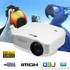 1200 lumens CHEERLUX C6 mini LED Home Theater Projector HDMI