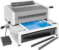 GBC-C800-Ibico EPK-21 Electric Comb Punch-Bind machine