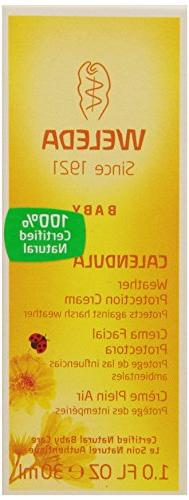Weleda Baby Calendula Weather Protection Cream, 1 Fluid