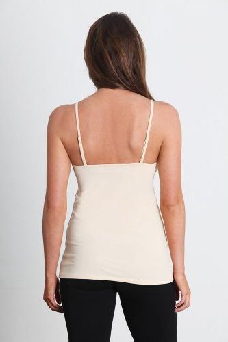 "Shemie Women's ""The Hoppy Top"" Cami-L-Nude"