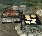Campfire Grill Camping Gear Cooking Camp Kitchen Pit