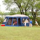 Large Camping Tent 12 Person Instant 18' x 16' Screen Room