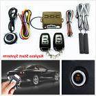 12V Car Alarm Security Start System Keyless Entry Push